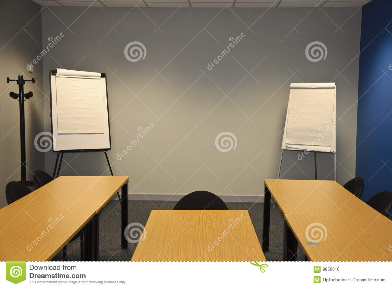 Modern Classroom Certified Trainer : Large modern classroom or business stock photo image