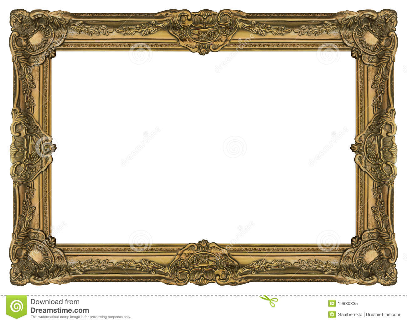 large old gold frame 002 stock image image of deco ForLarge A Frame