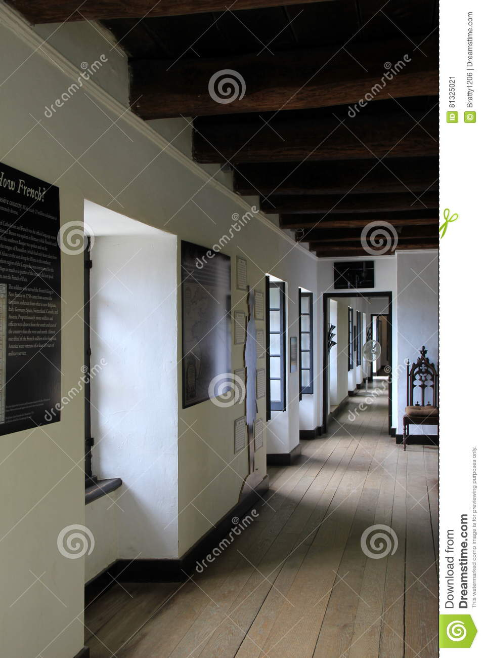 Large Open Room With Historic Items That Depict Life In Early