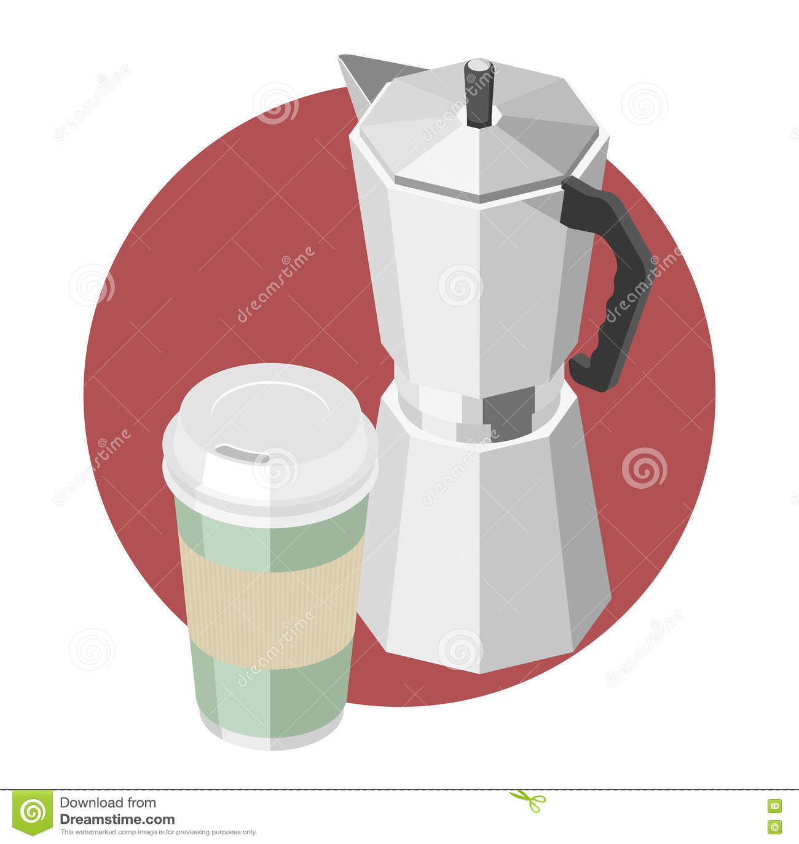 large coffee machine
