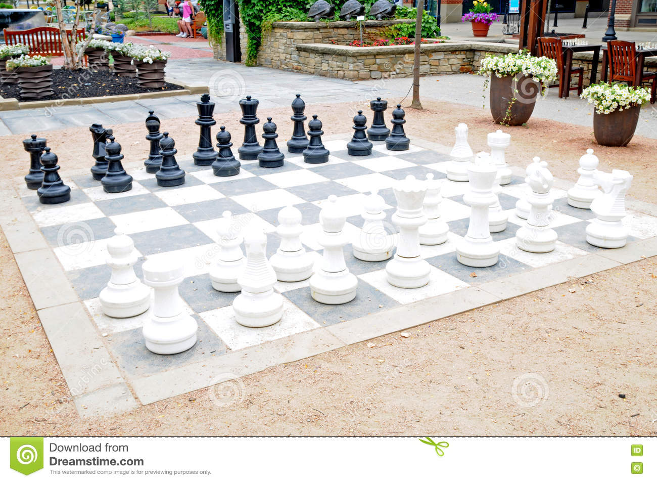 Exceptional Chess Image Large Patio Set ...