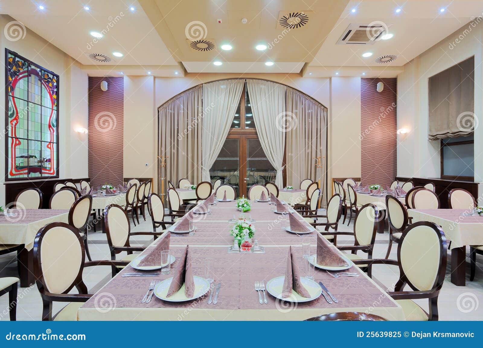 interior modern large restaurant large windows stock photos