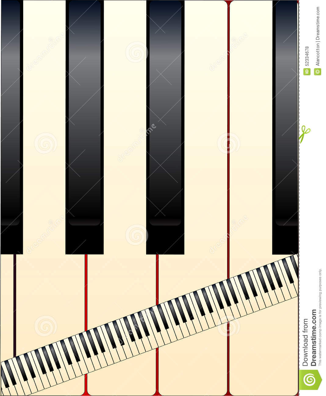 Small upright piano stock photo 73976382 for Smallest piano size