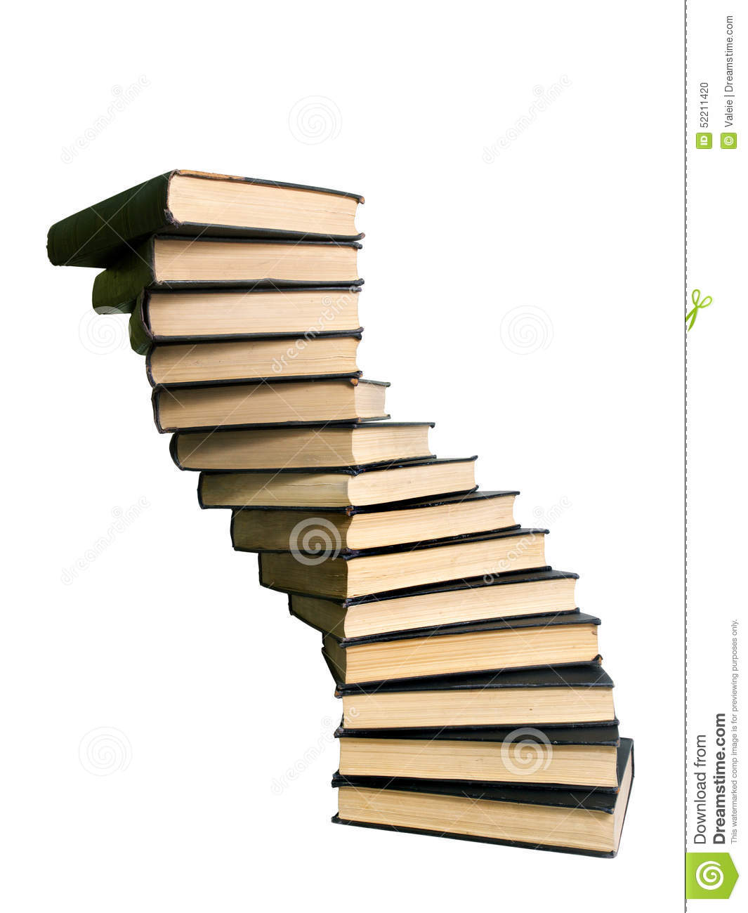 Large stack of books stock photo. Image of tome, knowledge ...