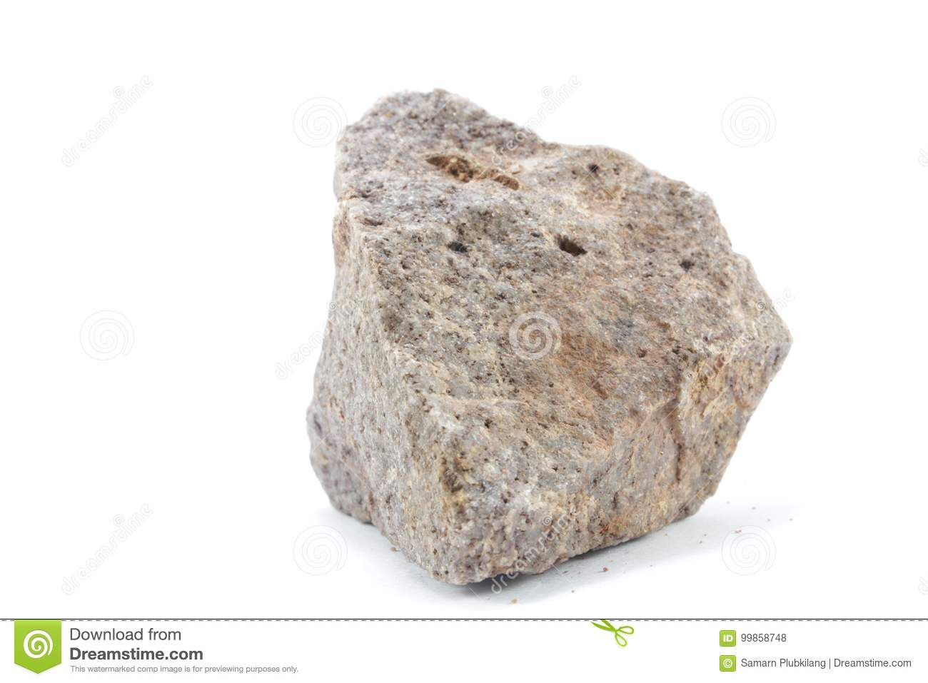 Download A large stone stock photo. Image of isolated, beautiful - 99858748