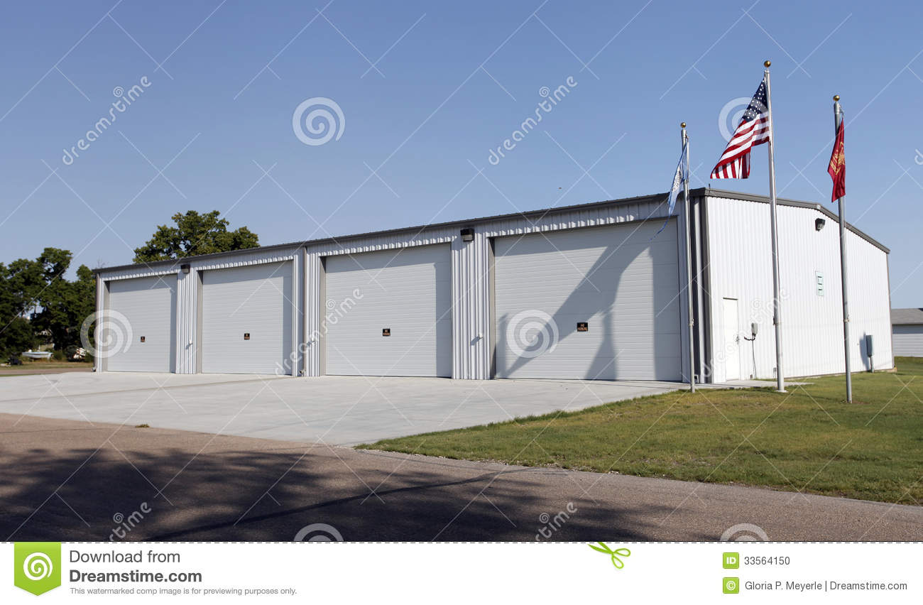 large vehicle garage and storage building stock photo image royalty free stock photo