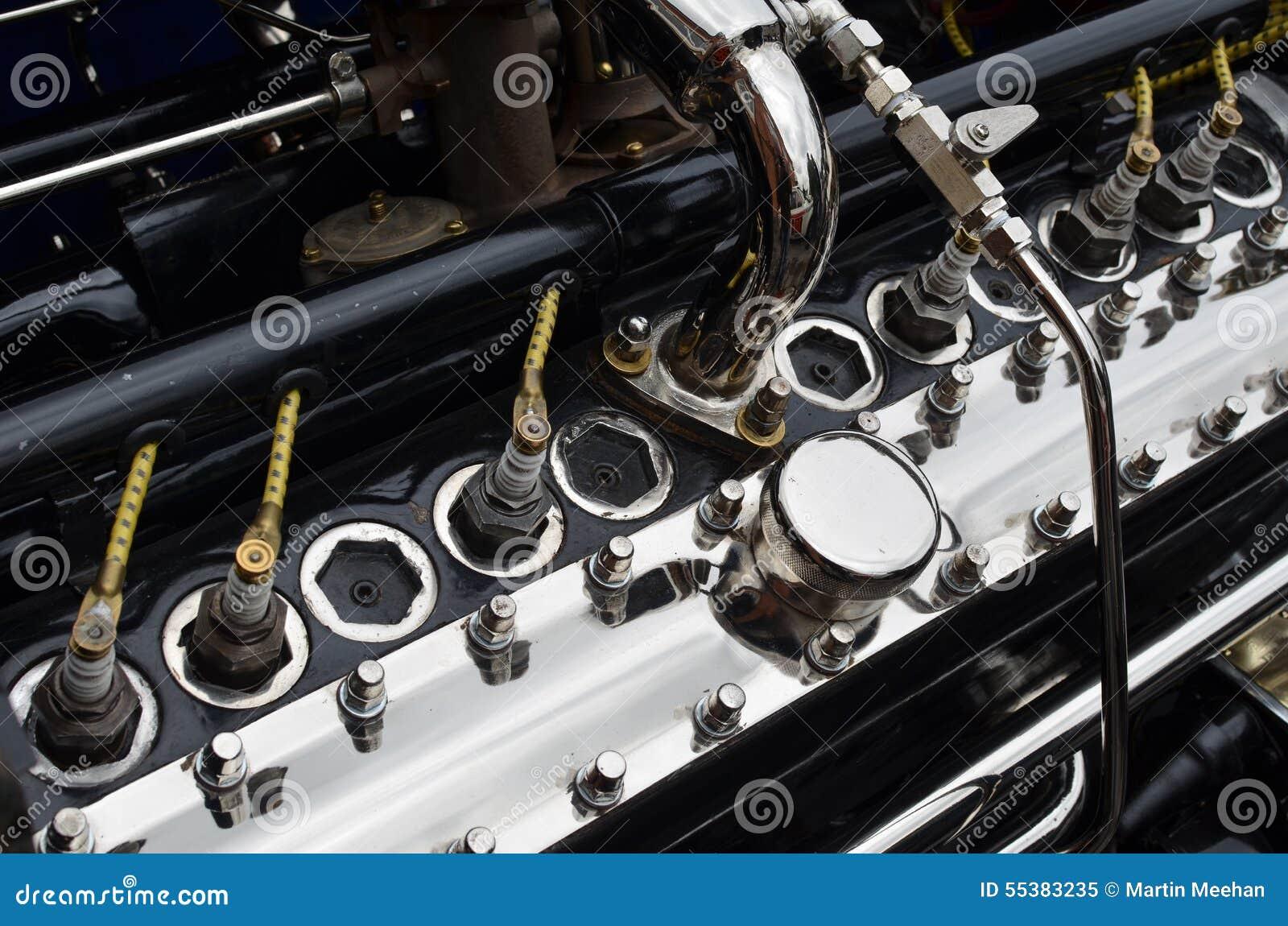 Vintage Car Engine 120