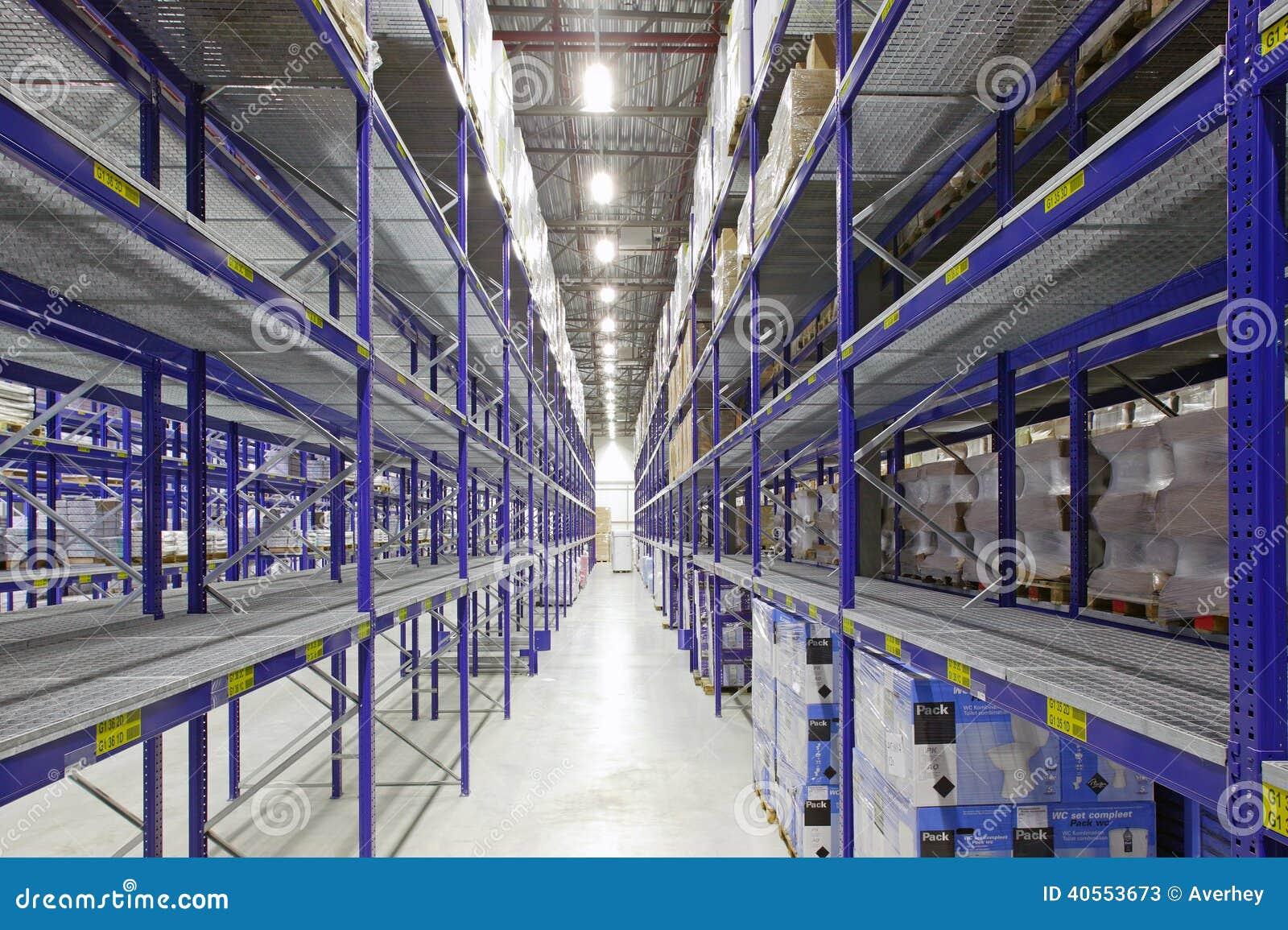 Large Warehouse Stock Photo Image 40553673