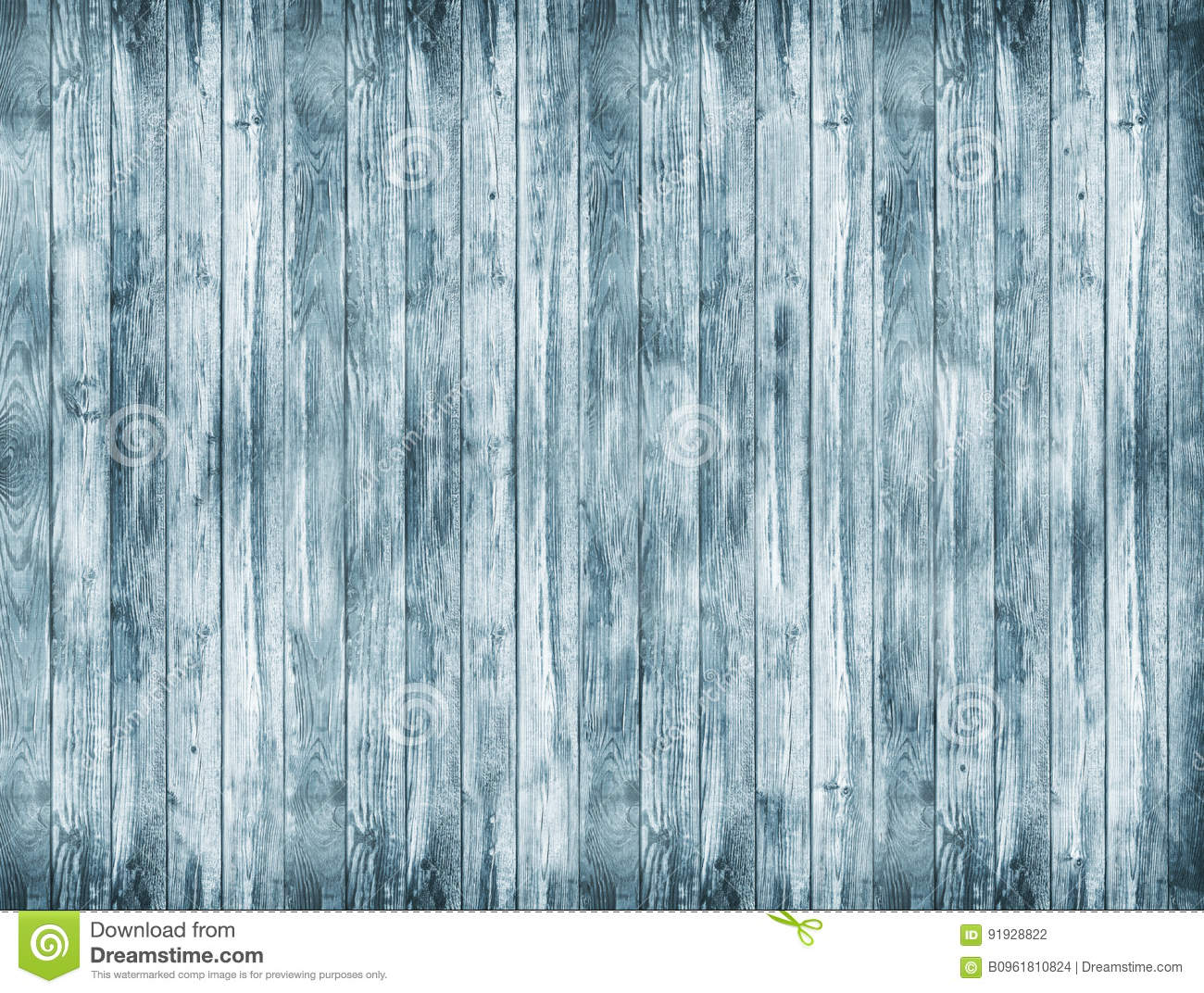 A large wooden background. A blue wood texture. Old boards background.