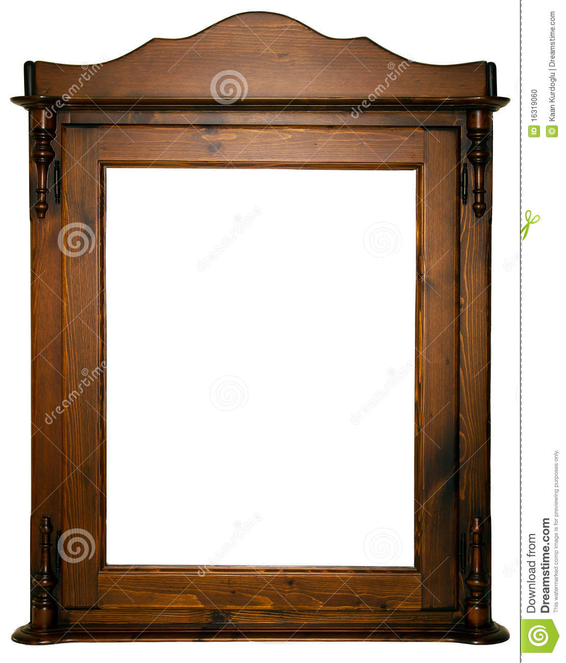 Large wooden frame stock photo. Image of furniture, retro - 16319060