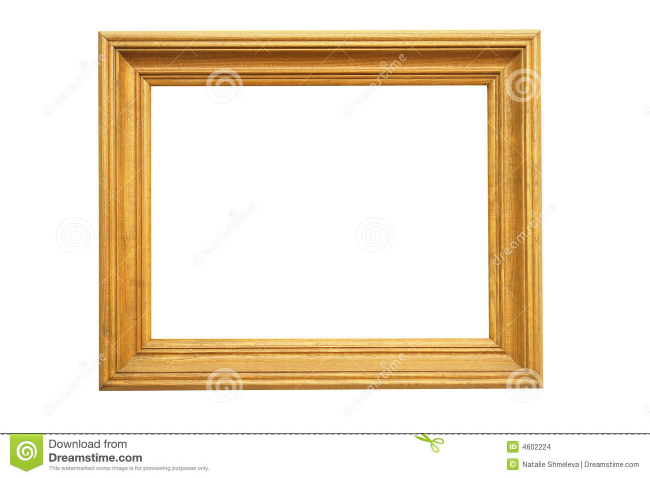 Large wooden picture frame stock images image 4602224 for How to make a large picture frame