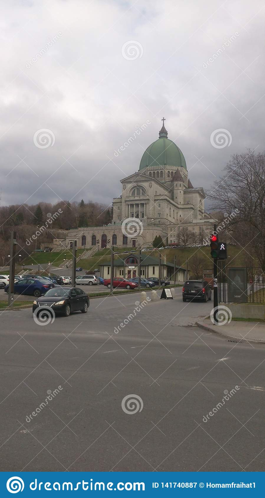 Largest church in Canada Montreal the oratory of st Joseph