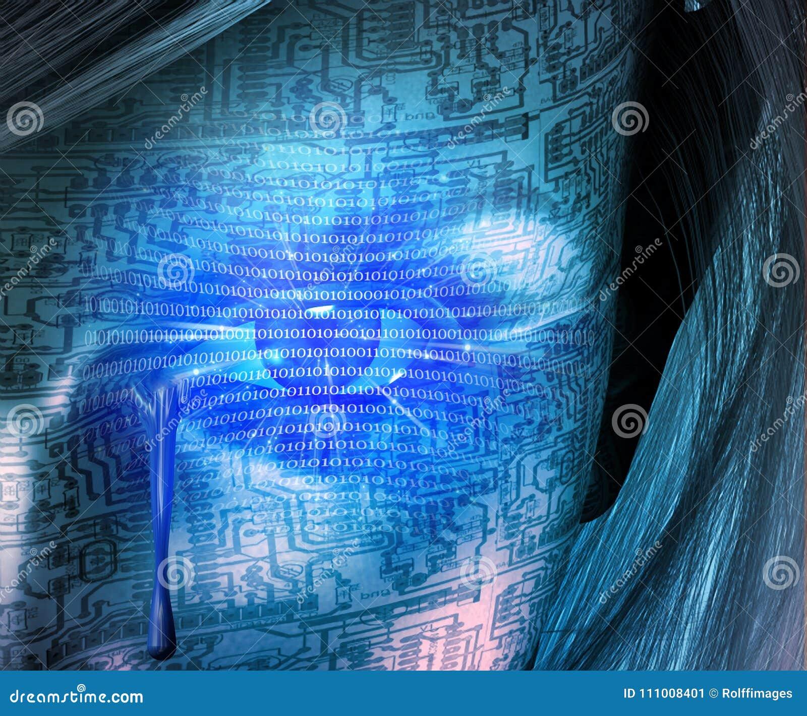 Larmes de cyborg
