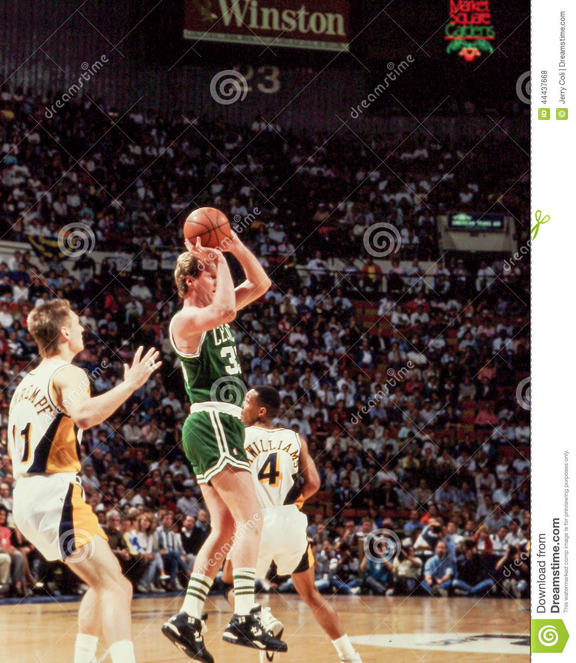 Larry Bird Boston Celtics