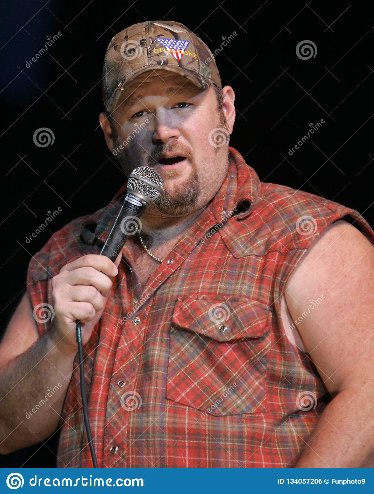 Larry The Cable Guy Performs Editorial Photo - Image of