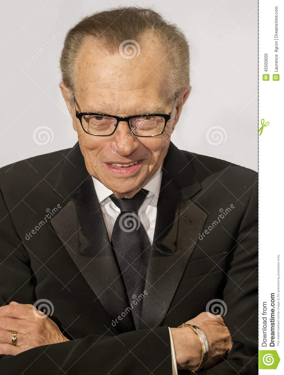 <b>...</b> présentateur de talk-show par radio <b>Larry King</b> arrive sur le tapis rouge <b>...</b> - larry-king-45500605