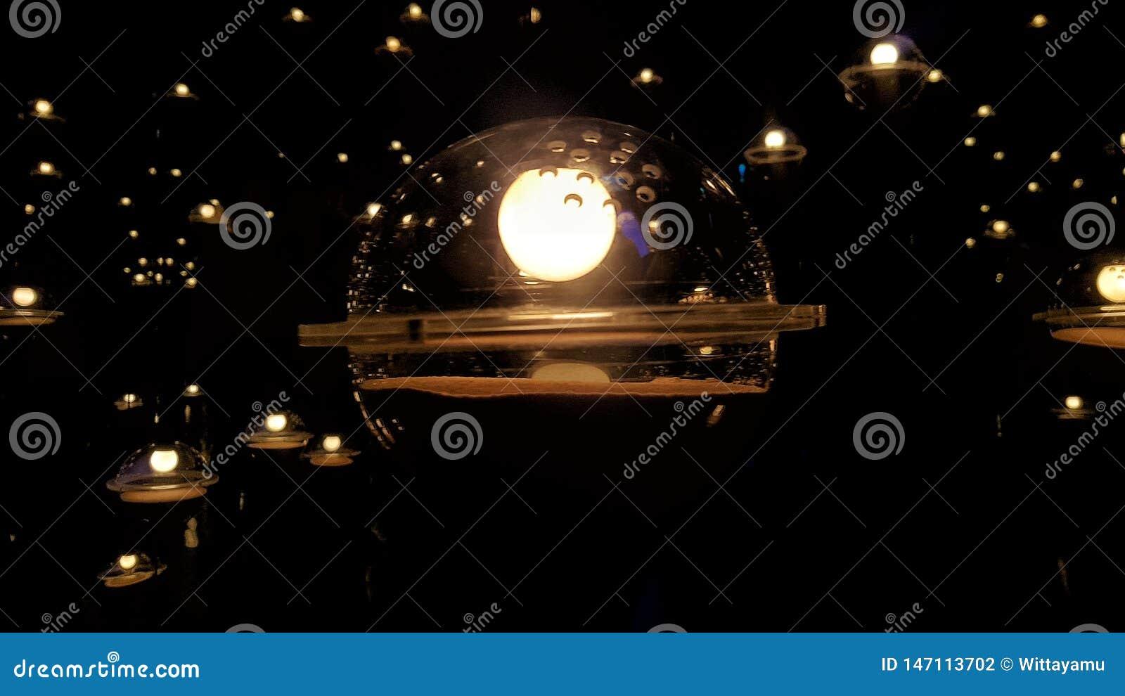 Las bombillas de flotación