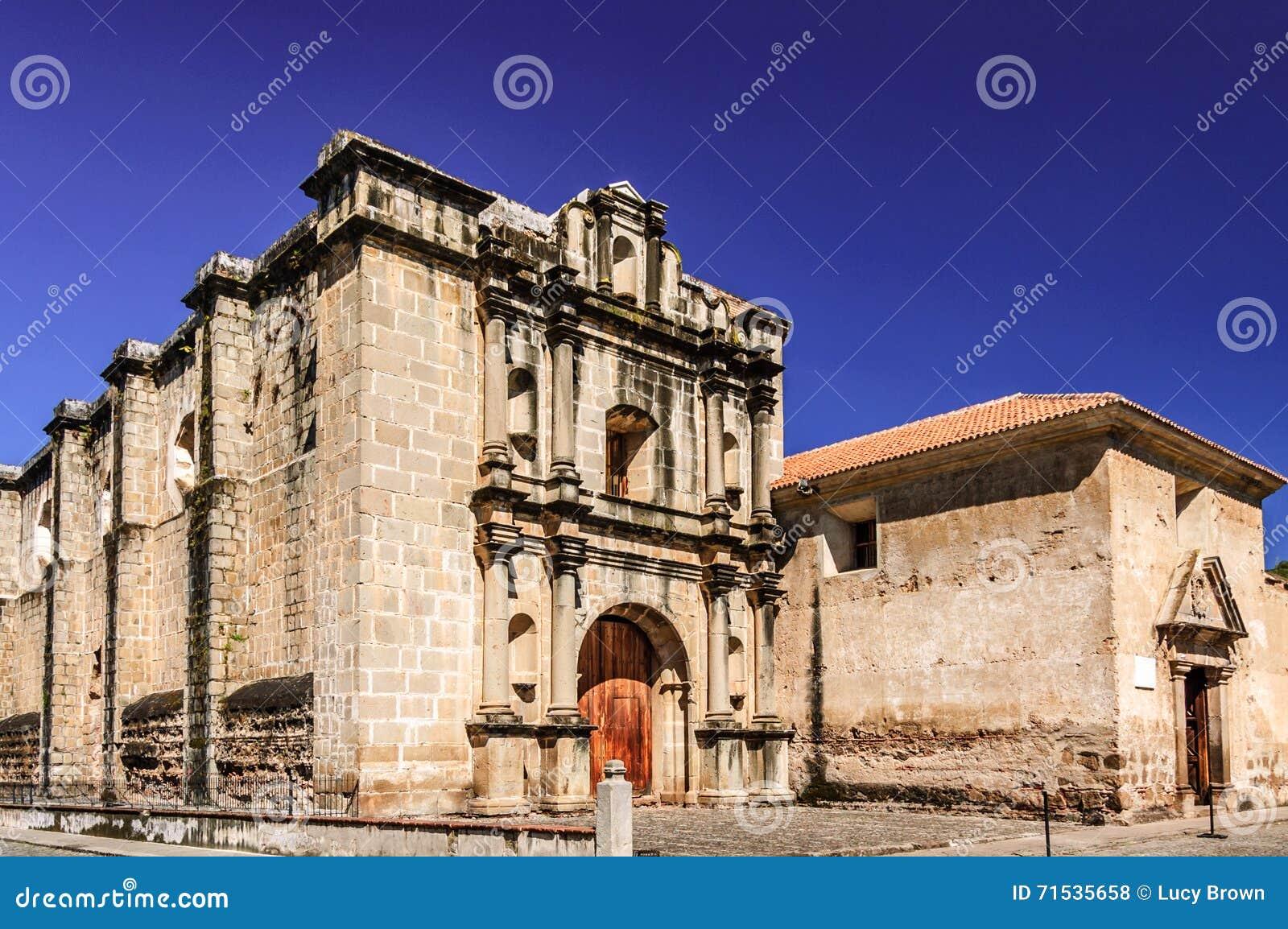 Las Capuchinas church & convent ruins, Antigua, Guatemala