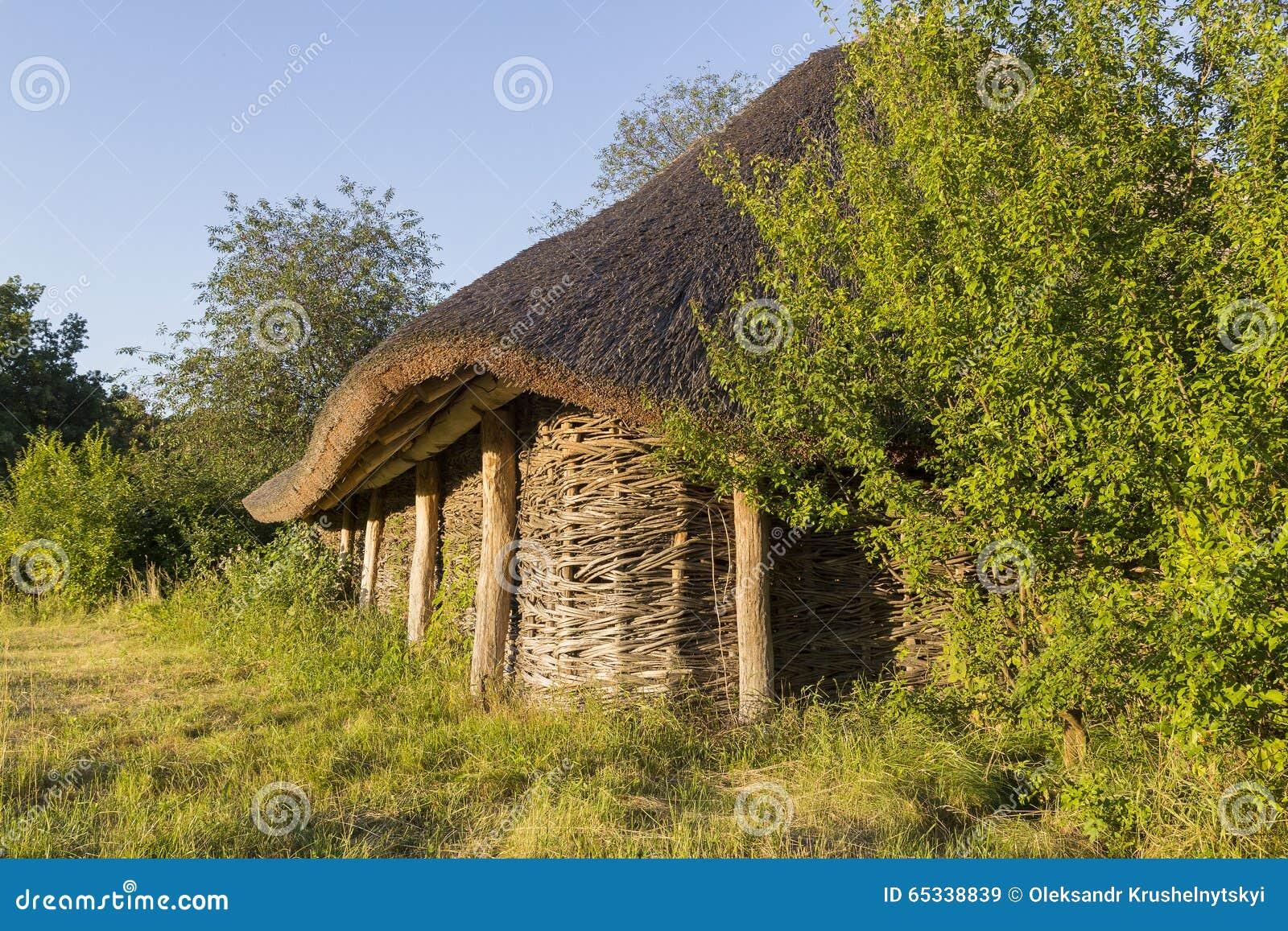 Las Casas De Madera Viejas, Cabañas De Madera Imagen de ... - photo#7