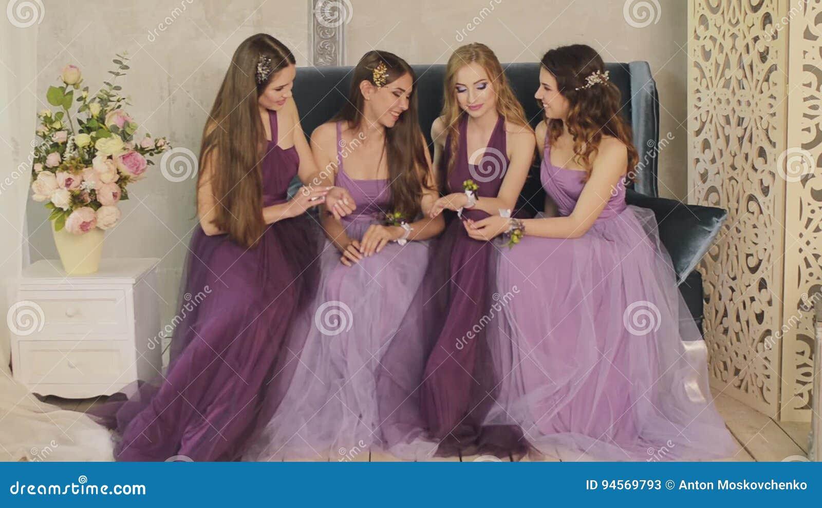 Bonito Damas De Honor Vestidor Modelo - Vestido de Novia Para Las ...