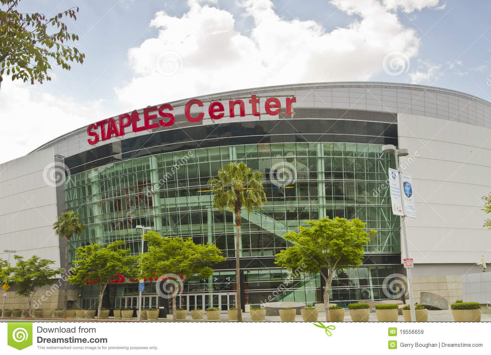 Las grapas se centran en Los Ángeles céntrico