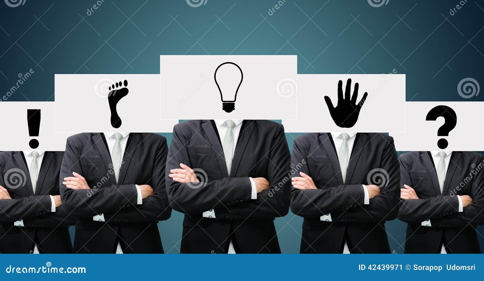 Las ideas permanentes del Libro Blanco del hombre de negocios hacen frente a llevar a cabo el frente del hea