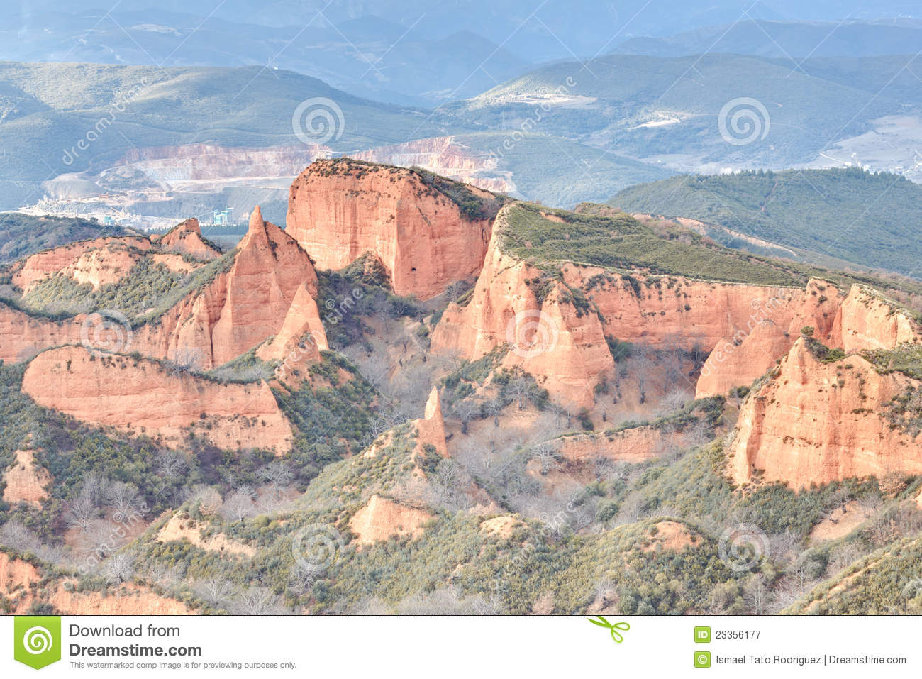 Las Medulas, Spain Royalty Free Stock Photography - Image: 23356177
