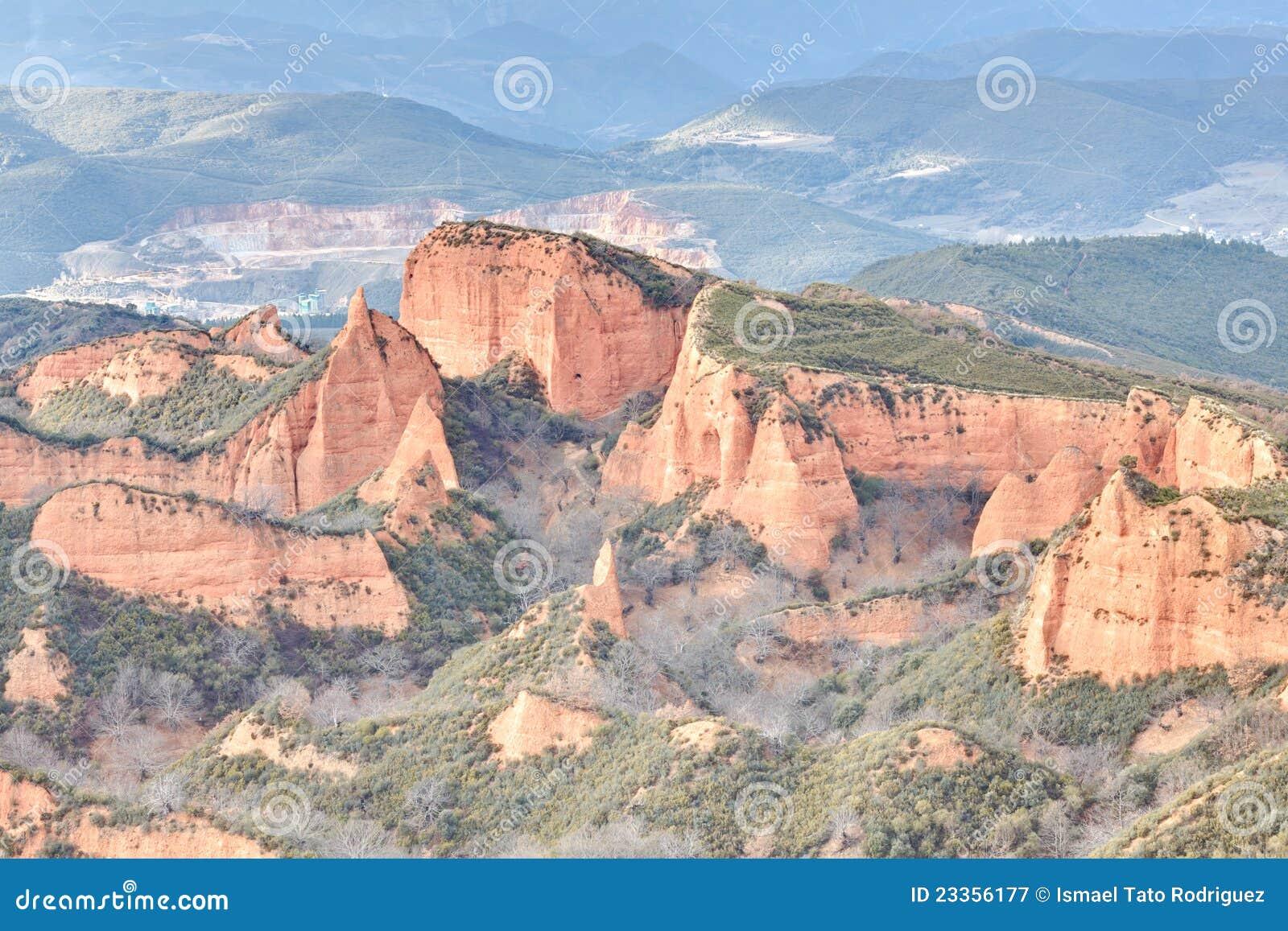 Las Medulas, Spain Royalty Free Stock Photography - Image: 23356177