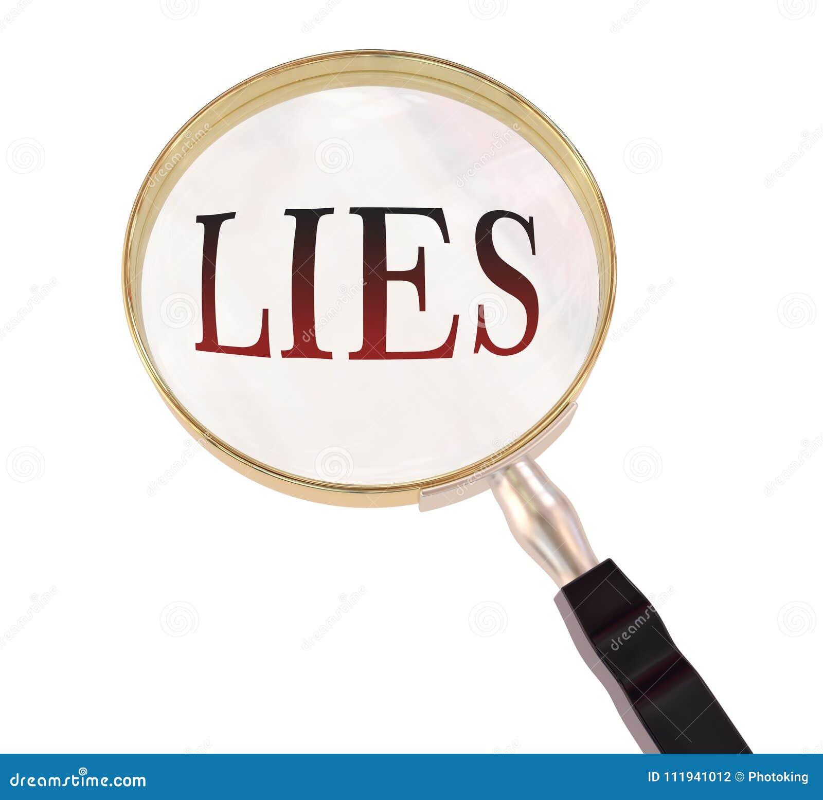 Las mentiras magnifican
