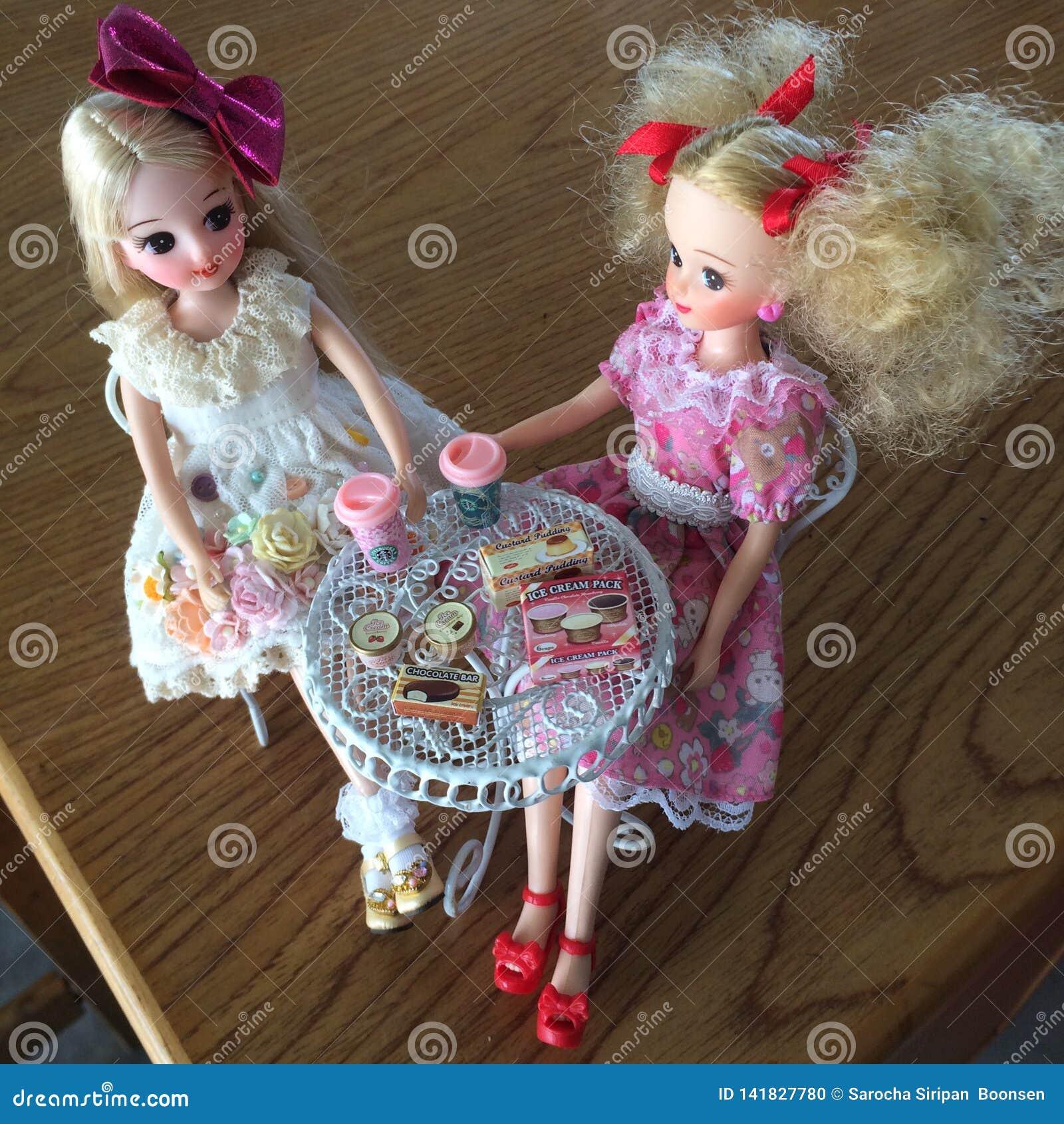 Las muñecas japonesas adorables nombraron LICCA chan