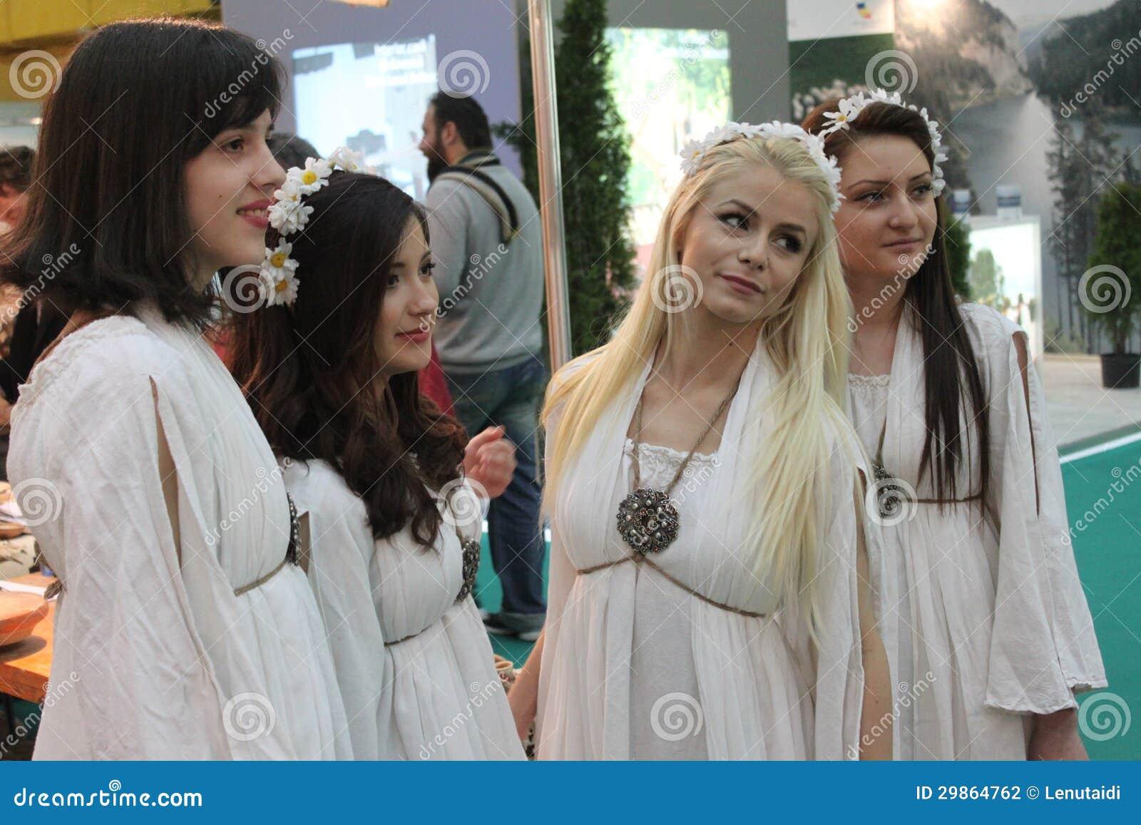 Las muchachas los adolescentes rumana el adolescente rumano