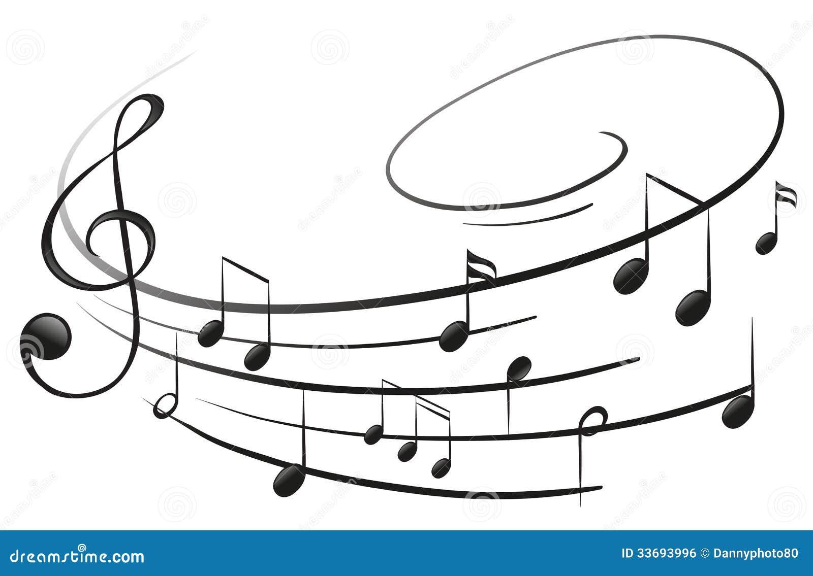 Las notas musicales con la G-clave