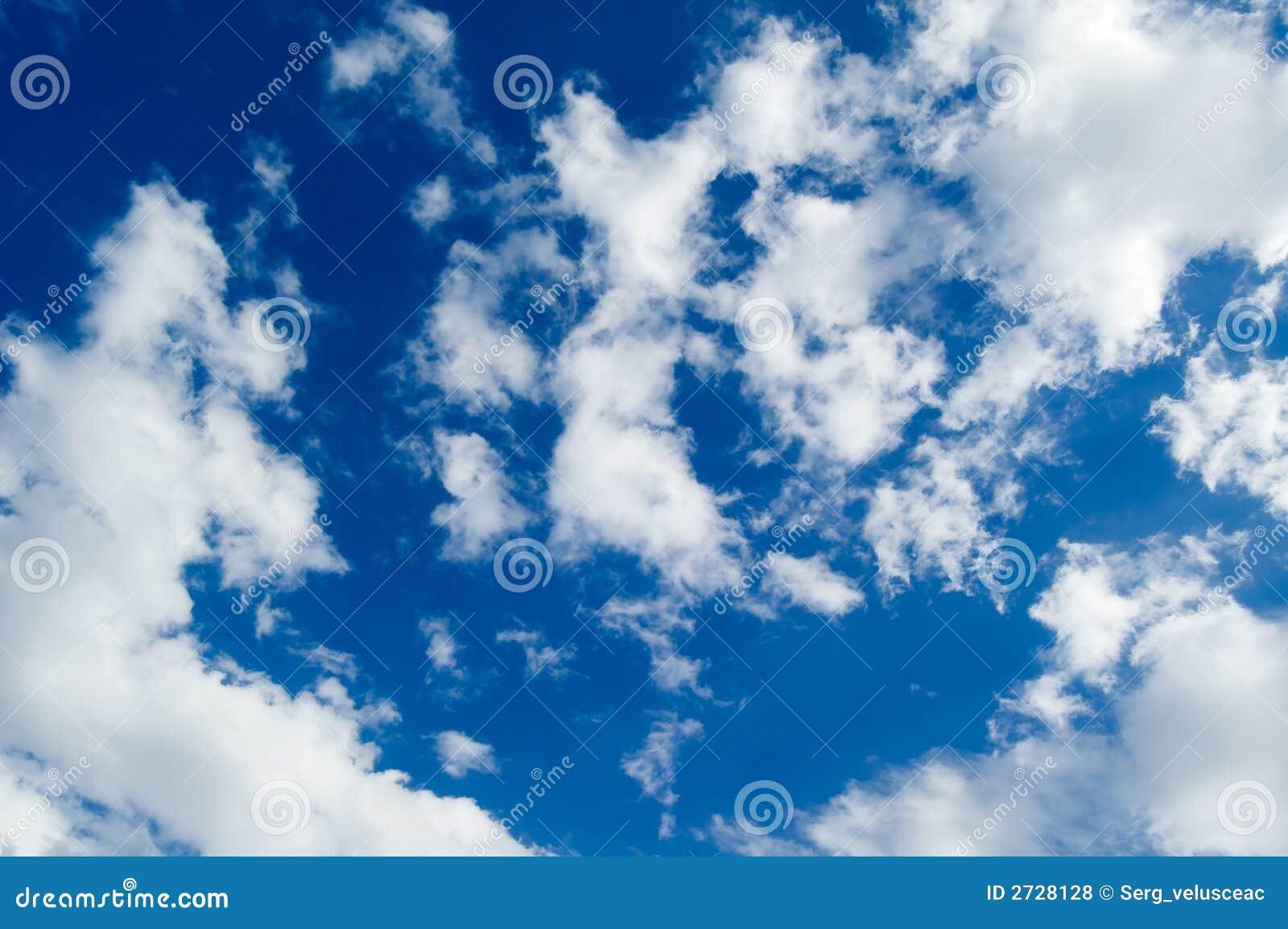 Las nubes.