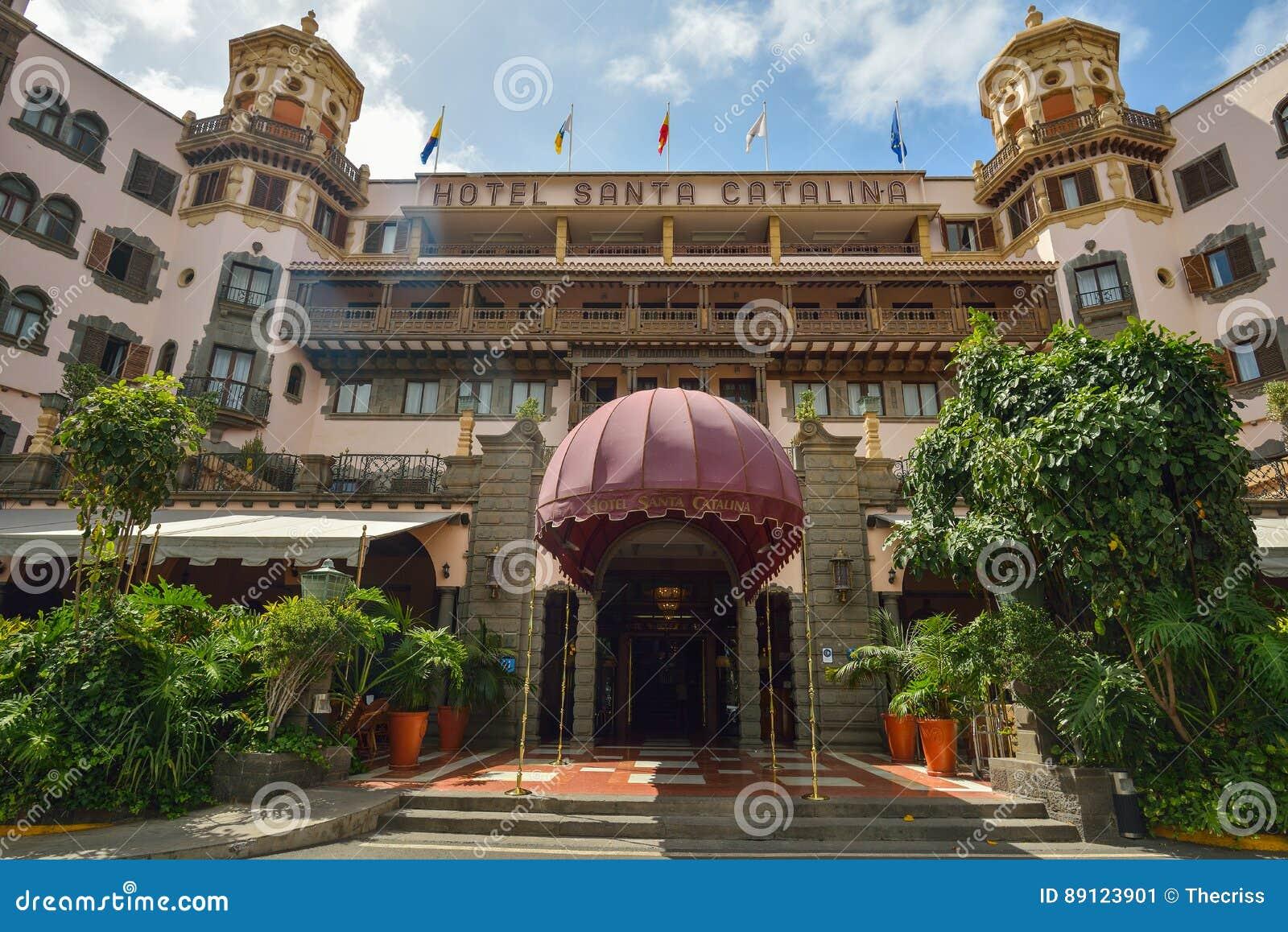 Las Palmas Gran Canaria Spanien 10 März 2017 Hotel Santa