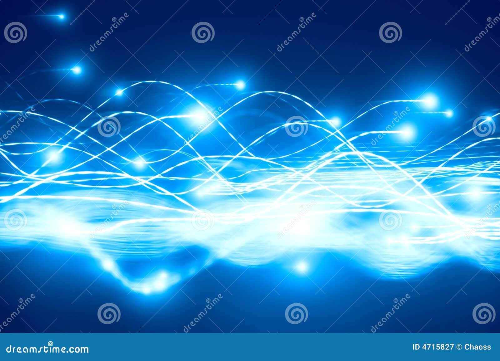Las partículas abstractas fluyen