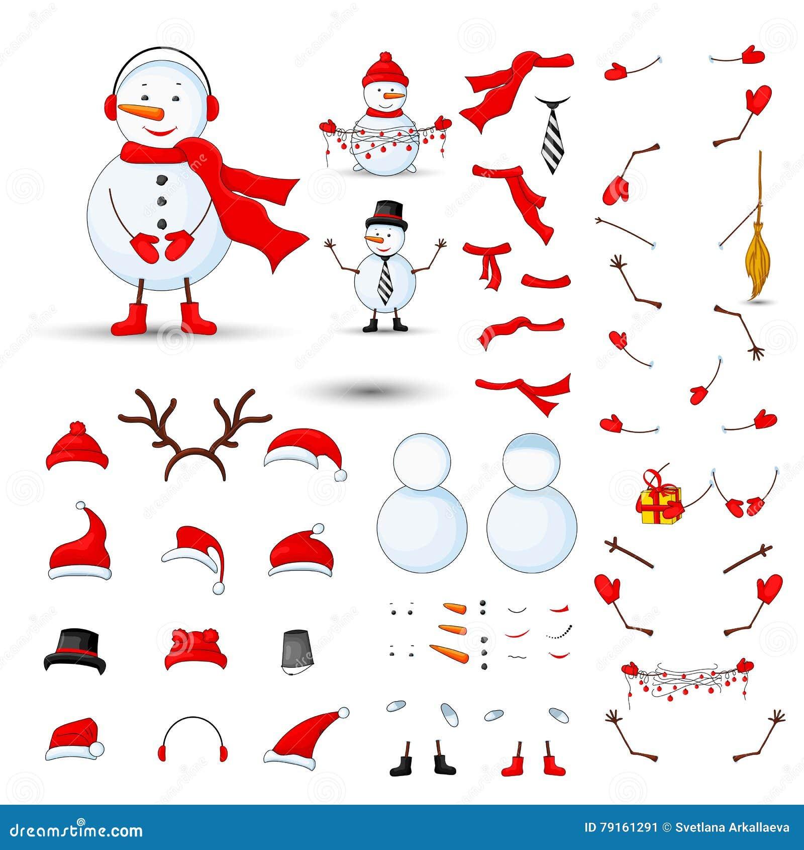 Las Partes Del Cuerpo De Los Muñecos De Nieve, Sistema Del ...