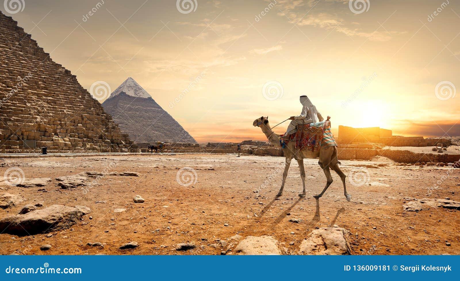 Las pirámides ajardinan Egipto