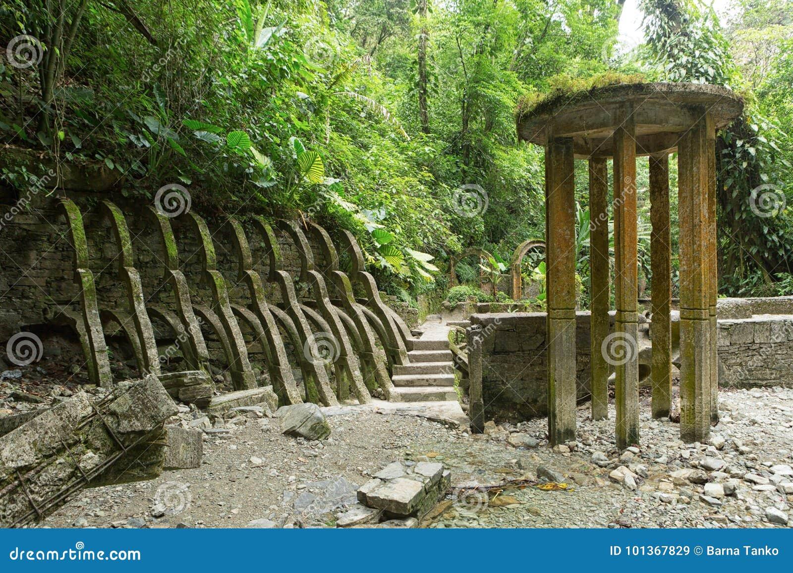 Las Pozas alias Edward James Gardens in Mexiko