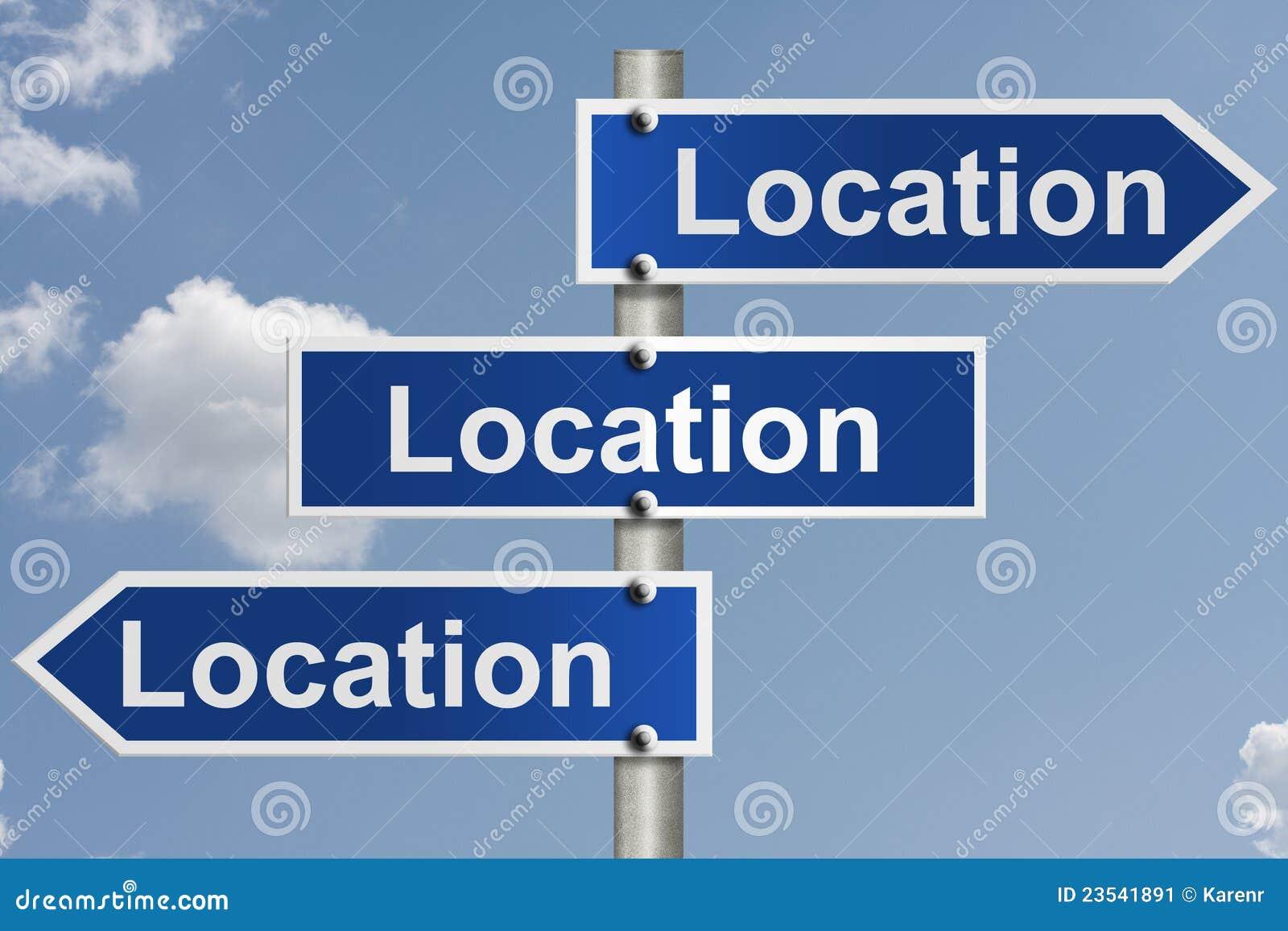 Las propiedades inmobiliarias están todo sobre la localización
