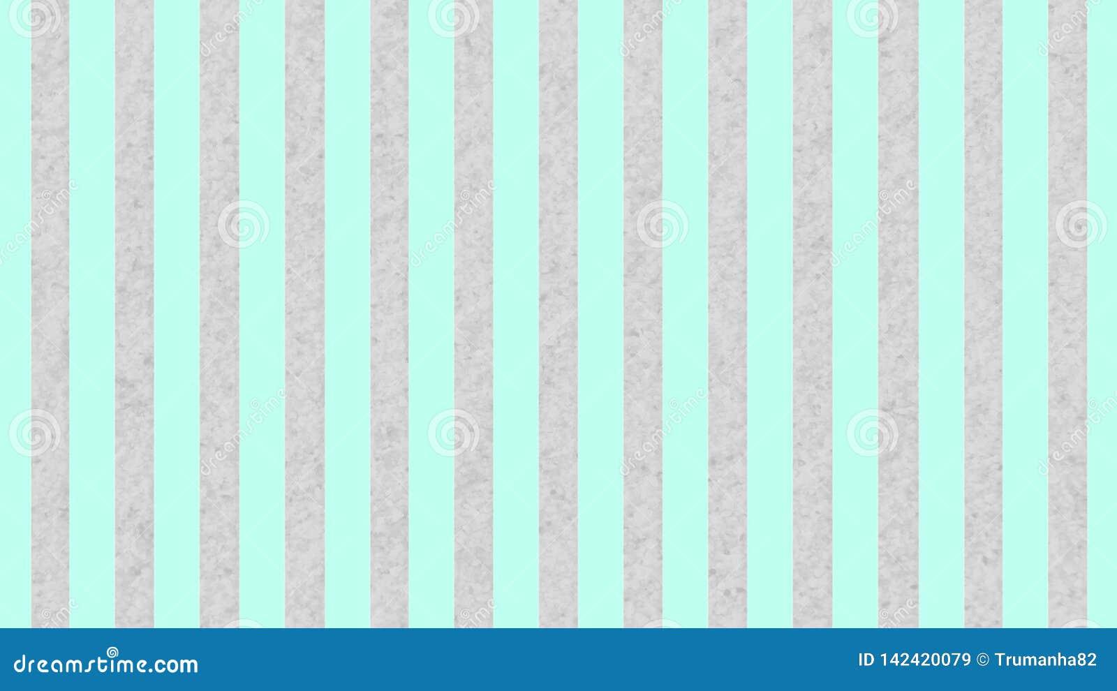 Las rayas verdes en colores pastel inconsútiles texturizan en Gray Grunge Background