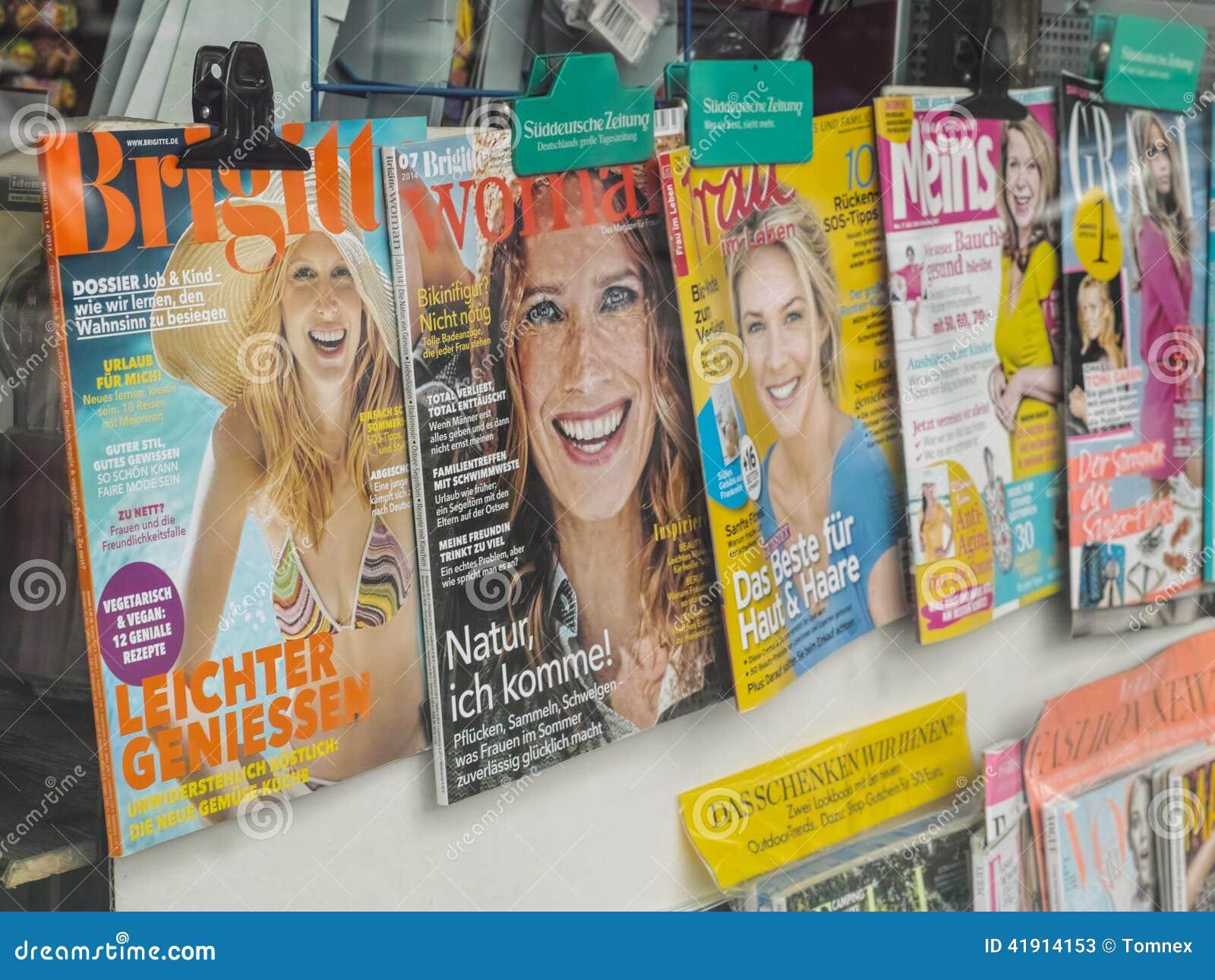 Las revistas de la mujer en Alemania