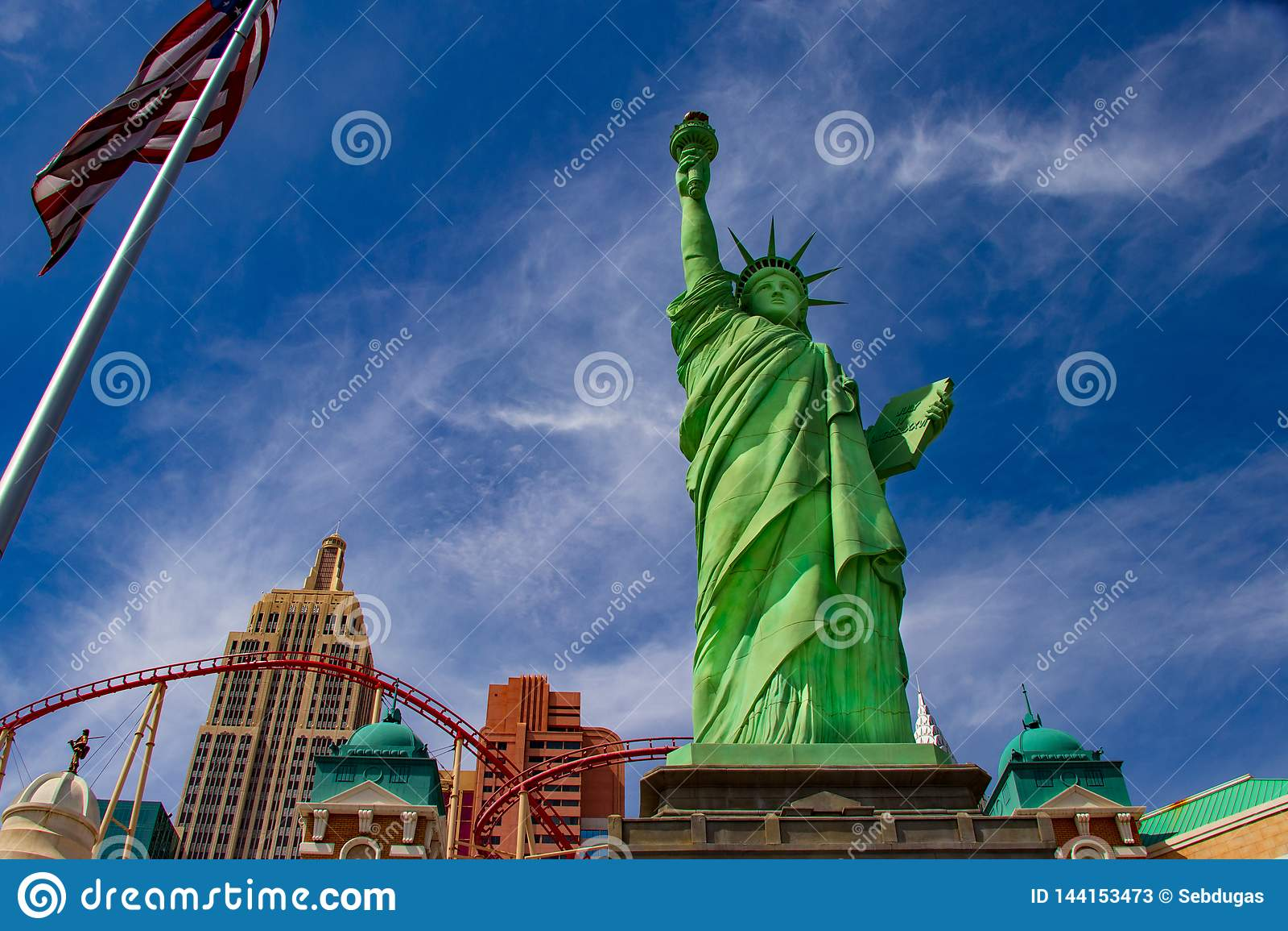 Las swobody statua Vegas