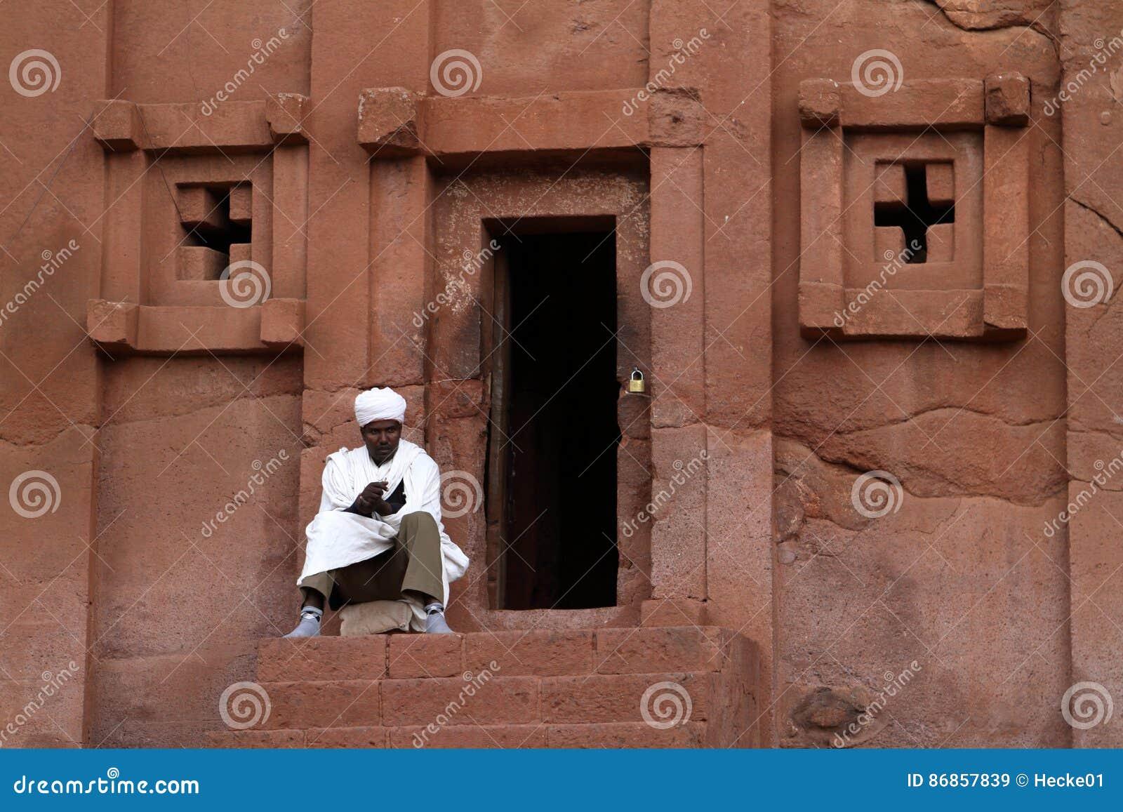 Las tallas de la roca de Lalibela en Etiopía