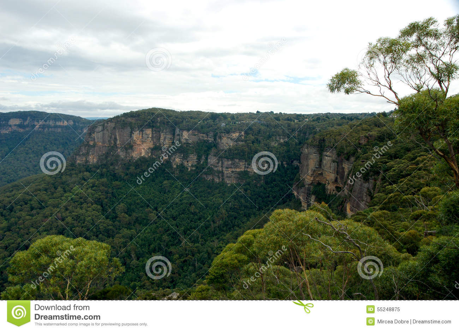 Las tres hermanas de Echo Point, parque nacional de las montañas azules, NSW, Australia