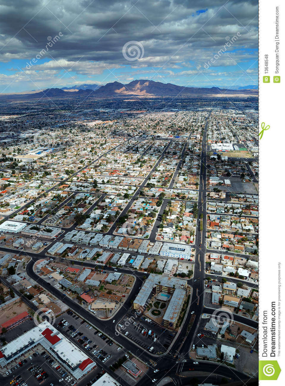 Aerial view las vegas strip opinion