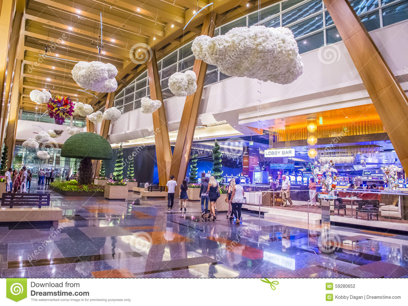 . Las Vegas Aria editorial photography  Image of colorful   59280652