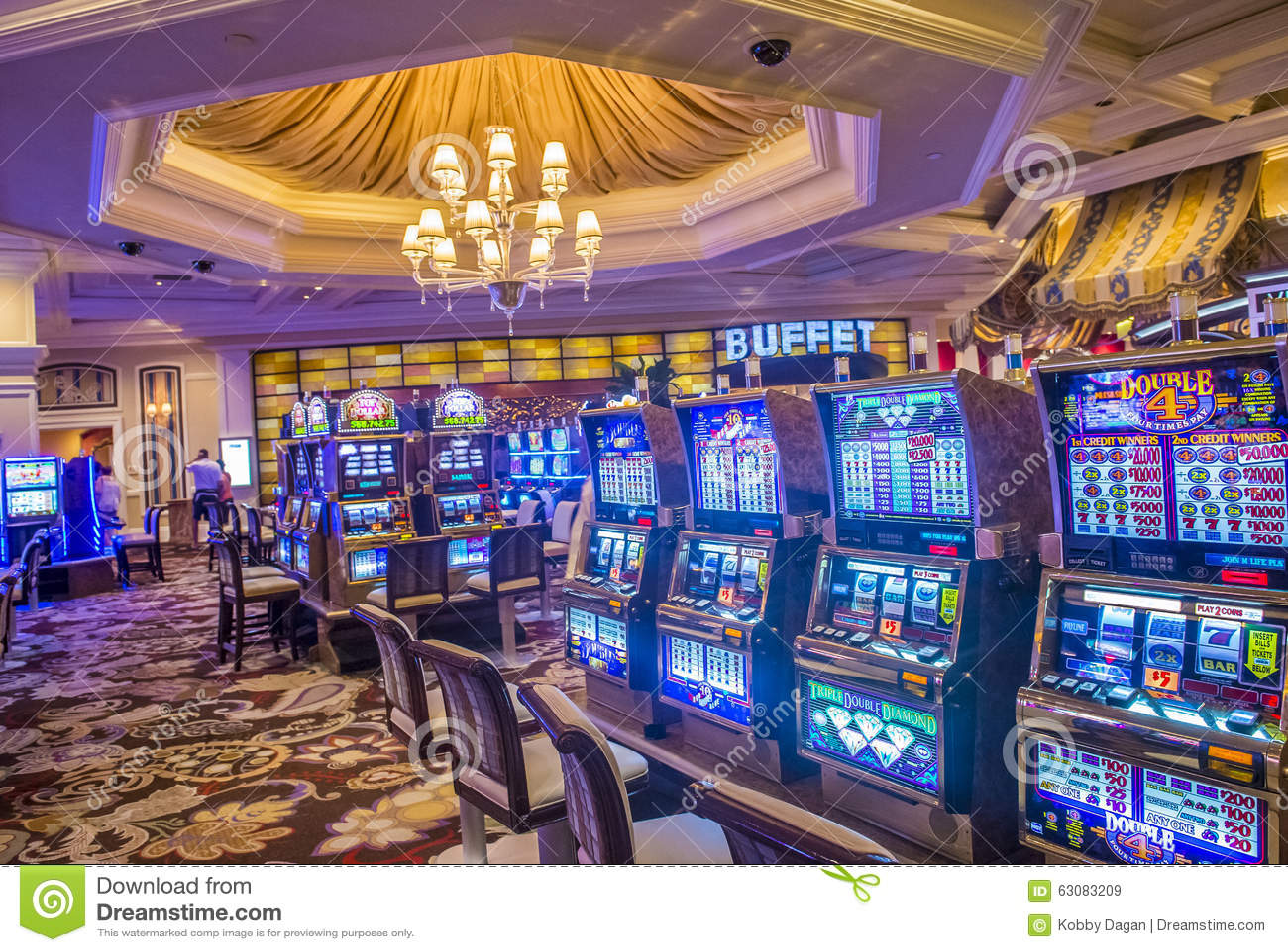 Download Las Vegas, Bellagio image stock éditorial. Image du gibiers - 63083209