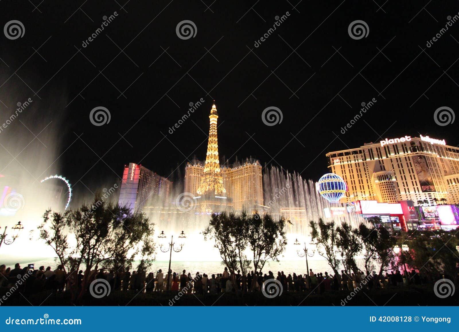 Las Vegas Bellagio Fountain