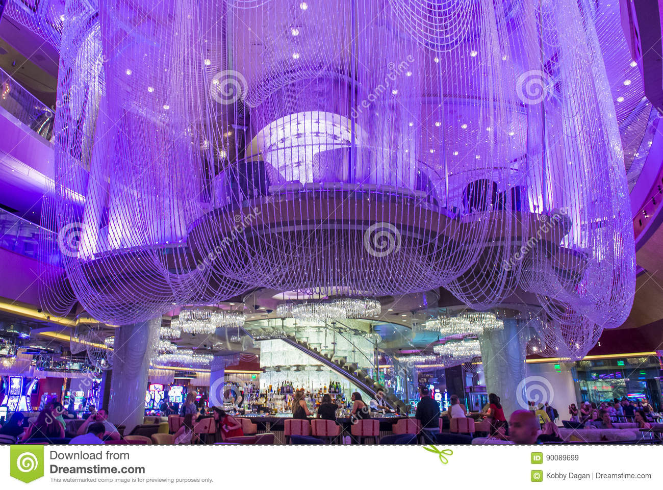 Las vegas chandelier bar editorial stock image image of casino download comp aloadofball Image collections