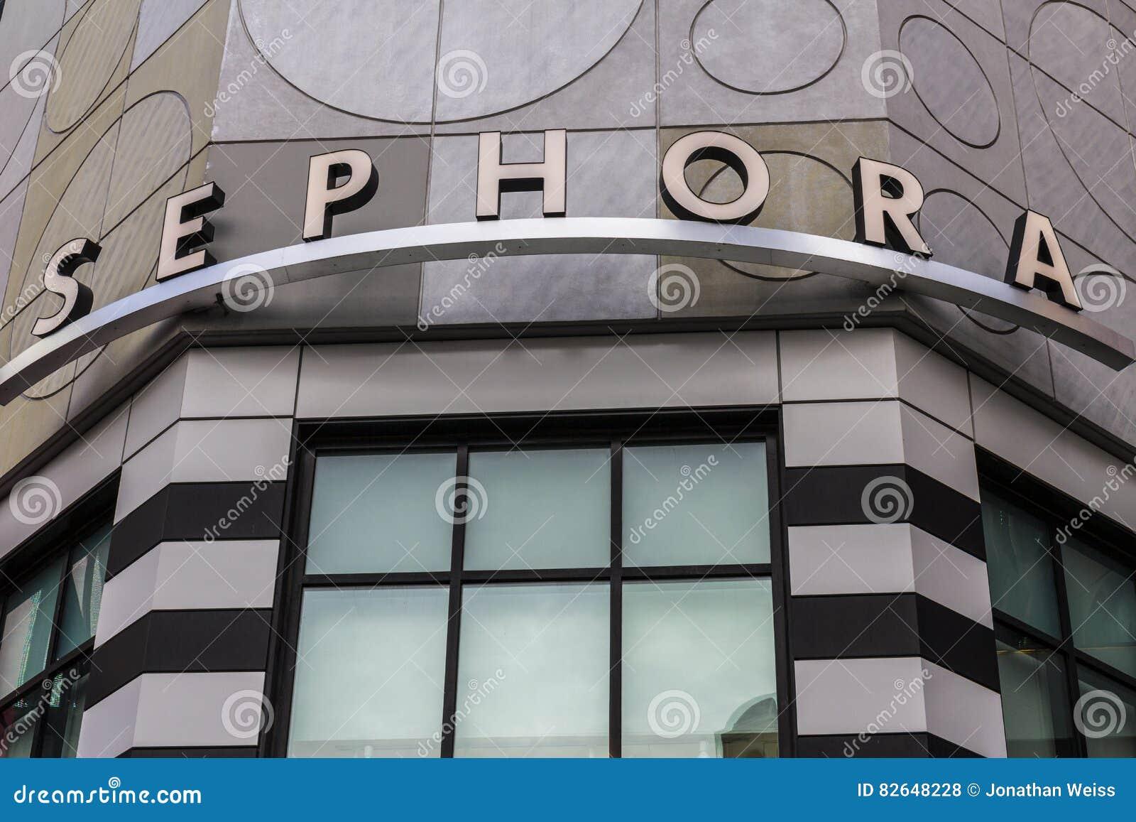 Las Vegas - Circa December 2016: Sephora Retail Store. Sephora Is ...